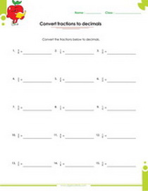 free printable decimal worksheets with answers for grade  converting fractions to decimals order of operation worksheets with answers