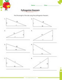 Printables Pythagorean Triples Worksheet pythagorean triples worksheet templates and worksheets worksheet